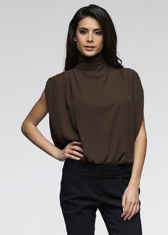 Sleeveless turtleneck blouse | Blouses & shirts | Womens Clothing  bonprix.co.uk