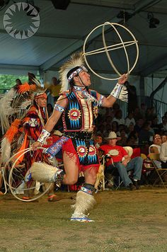 Native American Hoop Dancer ~ Embodiment of Joy + Power + Grace ~ Witness this dance and your Spirit will follow!