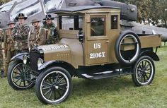 1918 Ford Model T Army Truck.....