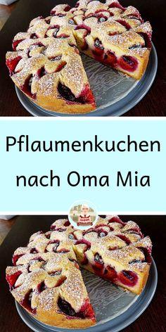 Sweet Pumpkin Recipes, Sweet Recipes, Baking Recipes, Cake Recipes, Dessert Recipes, German Baking, German Cake, Healthy Freezer Meals, Austrian Recipes