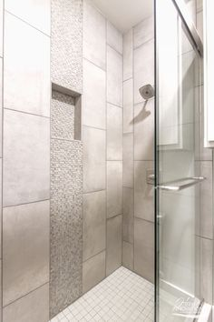 Vertical Shower Accent Tile Ideas Google Search Shower