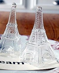 Eiffel salt and pepper shakers