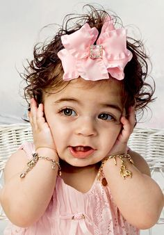 Milania Giudice 8-9 months old Portrait Artistry By Linda Marie