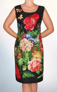 Gallery.ru / Фото #5 - Вышитое платье - Ka