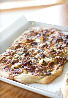 Pizza Party! Smoked Gouda Pizza with Italian Sausage