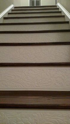 textured wallpaper stair risers - Yahoo Search Results
