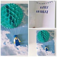 skydiving and parachuting gift voucher #birthday #card #diy