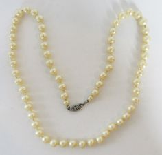 Impeccable Vintage 1960s Single Strand of Hand by GildedTrifles