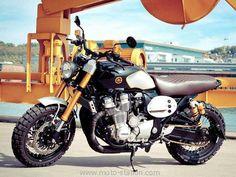 Concept, Yamaha: Une XJR1300 en mode haute couture
