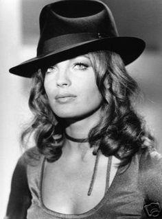 actress, romy schneider, hat, face, celebrity