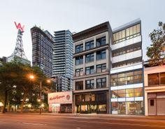 PARIS BLOCK & ANNEX, DOWNTOWN VANCOUVER, B.C. - ANKENMAN MARCHAND ARCHITECTS