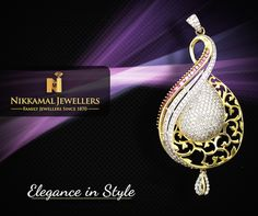 Beautiful collection of pendants available at Nikkamal Jewellers Ludhiana & Jalandhar Showrooms! I Gold & Diamond Jewelry