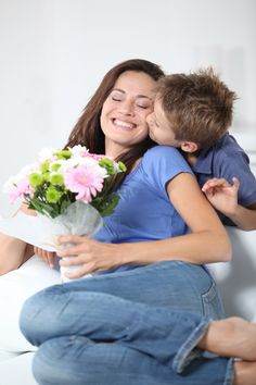 """""""Secret Santa"""" for Mother's Day (from Cozi Family Life): This is a great idea to give anonymously to a single mom. Mommy And Son, Mom Son, Mother And Child, Mothers Day Quotes, Mothers Love, Happy Mothers Day, Girl Photo Shoots, Girl Photos, Family Photos"""