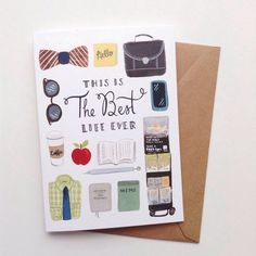 This is the Best Life Ever - Brothers Edition 5x7 Greeting Card, JW Pioneer, Elders, CO, JW Gift