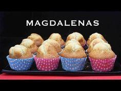 MAGDALENAS CASERAS CON COPETE - YouTube