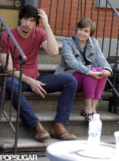 Spoiler Alert! See how Lena Dunham and Adam Driver get together for season 3 of HBO's Girls