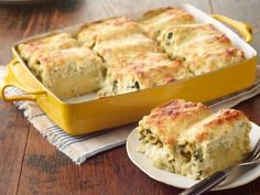 Could be keto if you used zucchini instead of noodles! Pesto Lasagna Rolls Recipe from Food Network