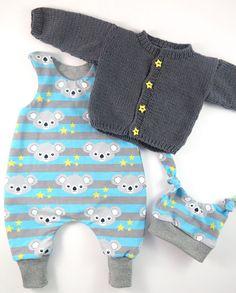 Erstlingsset Babyjacke und Babystrampler