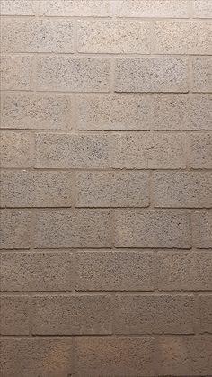 Muren zijn ook vaak verschillende vlakken naast elkaar. Deze muur was ruw van textuur.