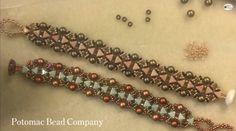 Wonderland Bracelet uses the new Kheops Par Puca two-hole triangle beadshttps:/ www.youtube.com/watch?v=MOT_Dc_D2g0