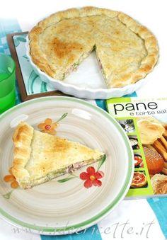 Ricetta Torta salata con broccoli, taleggio e prosciutto cotto