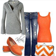 orange, me gusta la combinacion.