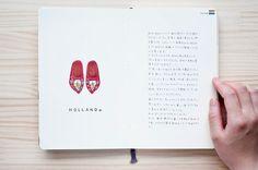 """Kondo Yoshie : travel book """" Holland """""""