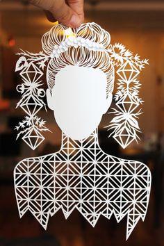 """Faceless"" artist? - gorgeous hair strand work"