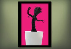 Marvel's Guardians of the Galaxy * Original Baby Groot Movie Poster - Wall Art