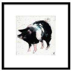 Check out this item at One Kings Lane! Bella Pieroni, Pig I