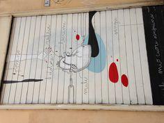 Street art, bologna Italy