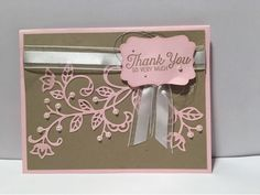 Inspired Stamping by Janey Backer: Pretty Flourishes, Flourishing Phrases, Stampin' Up!