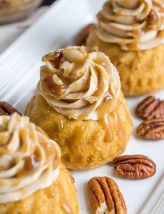 Sweet Potato Bourbon Mini Bundt Cakes Recipe Cake