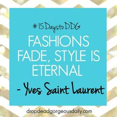 The best fashion and style trends on www.ddgdaily.com
