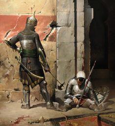 1453 Caída de Constantinopla. La última resistencia de los genoveses
