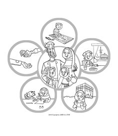 New Muslim Kids: Coloring Page: Islam Is Happiness