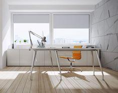 Stínící technika Anse pro soukromé i veřejné objekty - FWDS Europe, a. Home Office, Office Desk, Blinds For Windows, Pergola, Inspiration, Furniture, Home Decor, Shades For Windows, Biblical Inspiration