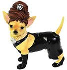 ★ New AYE CHIHUAHUA Dog Figurine BLACK DRESS Statue BLING JEWELED PARTY LADY - http://cutefigurines.net/aye-chihuahua/%e2%98%85-new-aye-chihuahua-dog-figurine-black-dress-statue-bling-jeweled-party-lady/