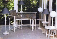 pvc pipe garden bar high chair