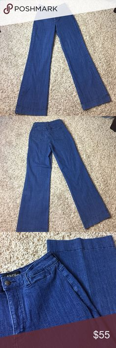 NYDJ (Not Your Daughters Jeans) High Wasted Jeans Not Your Daughters Jeans High Waisted with a bit of stretch | Only worn a few times. In great condition. Size: 10 Inseam: 32 | Make me and offer. I ❤ Offers! NYDJ Jeans Flare & Wide Leg