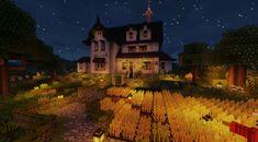 Minecraft Starter House, Minecraft Farm, Minecraft Medieval, Cute Minecraft Houses, Minecraft Construction, Minecraft Blueprints, Cool Minecraft, Minecraft Projects, Minecraft Crafts
