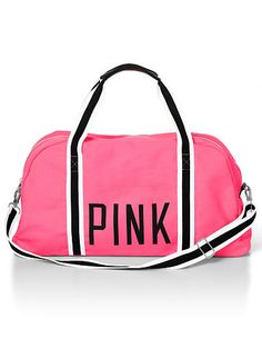 Large Sporty Duffle PINK