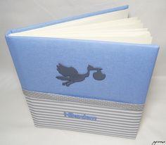 Album do wklejania zdjęć oprawiony tkaniną photo album by papierowe pracowniatworcza.pl