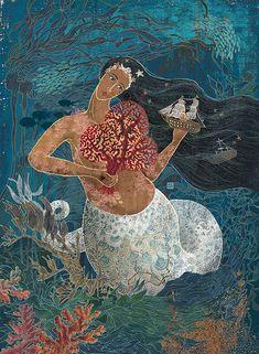 Mermaid ~ Queen of Clubs by Yohey Horishita