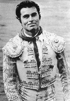 "Torero Francisco Rivera ""Paquirri"", this pic was taken few minutes before he was killed by a bull."