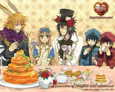 heart no kuni no alice - alice and the hatters <3