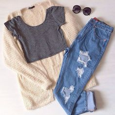 Tumblr (140) , ** Click @sophiemoyers for more lovely pins ** #girl - #cardigan, #blue cute