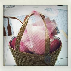 Breast cancer gift basket. Filled with encouraging goodies and comfort treats for a loved one battling the brave fight. #breastcancer #fightforacure #pink