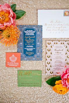 Glamorous Art Deco Invitations   Pitbulls and Posies LLC   Onelove Photography   TheKnot.com