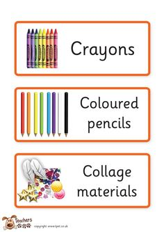 Teacher's Pet - Creative classroom labels - FREE Classroom Display Resource - EYFS, KS1, KS2, creative, classroom, labels, art, design, trays, drawers